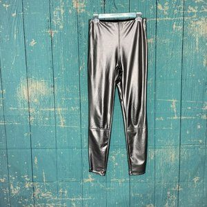 Lysse Jones Copper Metallic Faux Leather Leggings